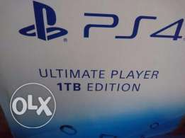 Playstation 4 1tb with 1year warranty