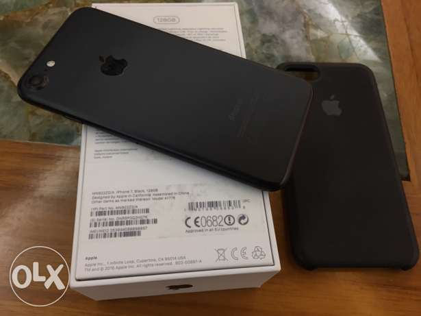 iphone 7 128 gb matt black