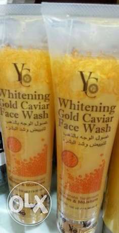 yc gold whitening face wash مسقط -  1