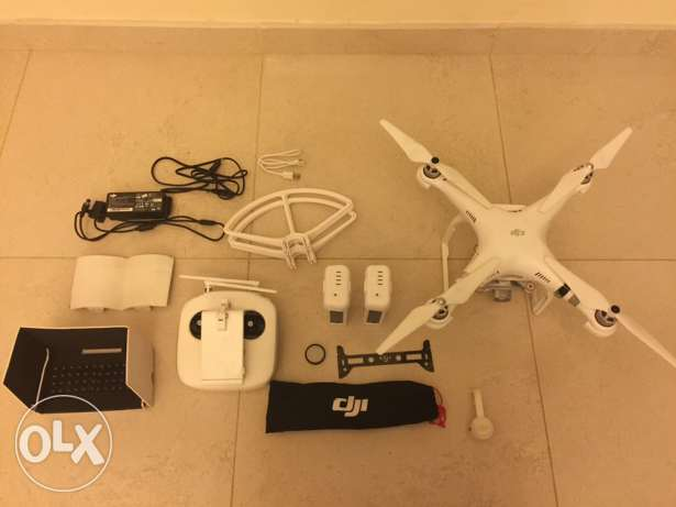 Phantom 3 Advanced with two batteries مسقط -  1