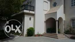 A nice villa for rent in Ghobra North .
