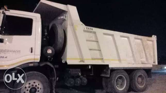 Tata (18 cbm, model: 2016) tipper for sale