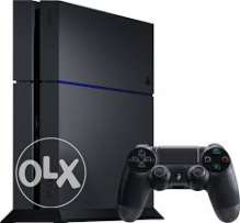 ps4 500gb + 6 games + 2 controller + with warranty