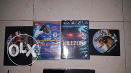 Playstation 2 with 4 cds for sale