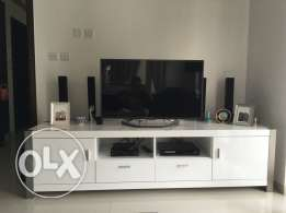 Beautiful top quality Tv cabinet white with drawers imed sale