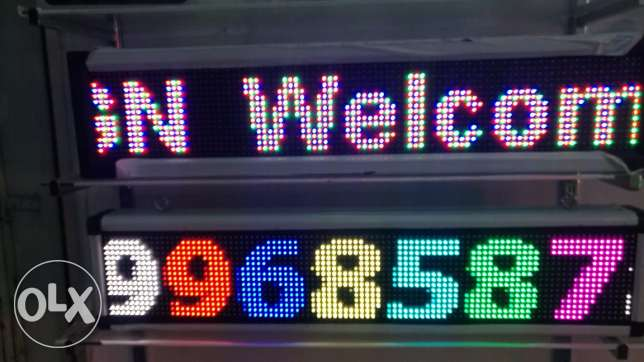 LED screen sign