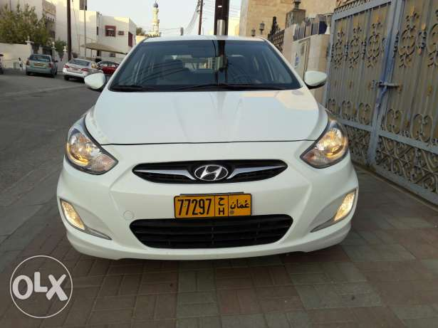 2013 accent bahwan agency automatic gear manual window free accident