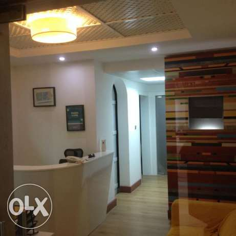 Fully fitted office in Al Ghubrah
