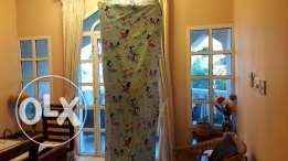 Beautiful kiddies room curtains ! Price reduced to 15 !