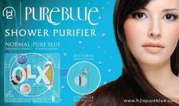 pureblue shower purifier for hair loss 30 RO