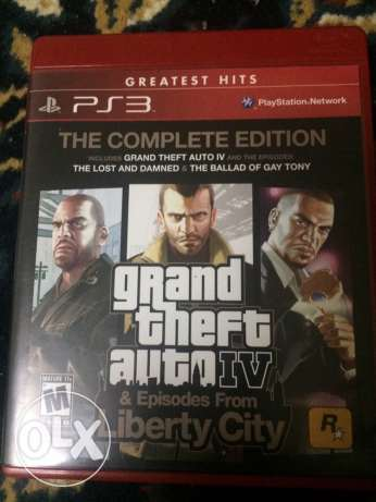 Grand Theft Auto 4 for PS3 السيب -  1