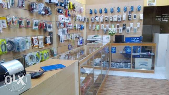 Shop for sale (Running Computer & Mobile Business) مسقط -  3