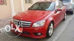 Mercedes-Benz C300 // 2010 Model // Great Red Color