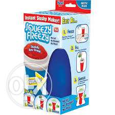 squeezy freezy mug with spoon