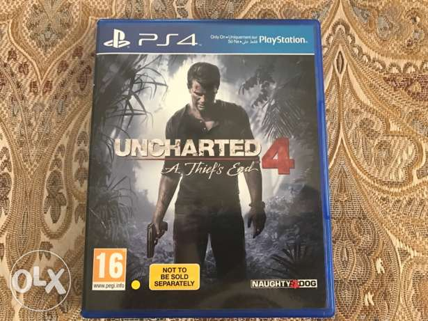 Uncharted 4 - PS4 مسقط -  1