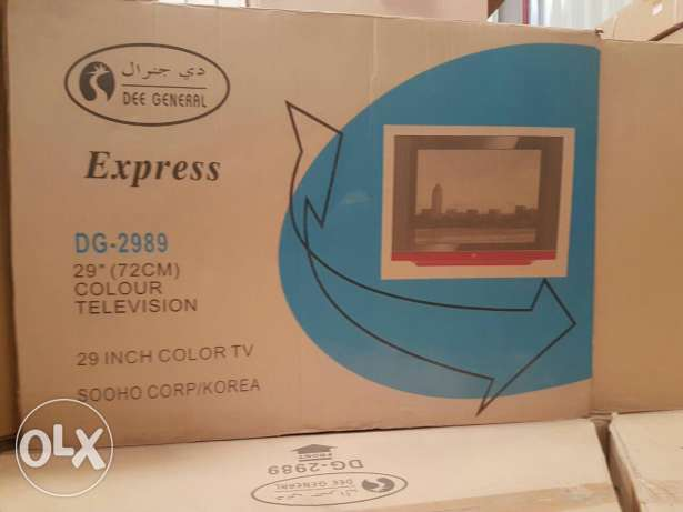 Tv. For. Sale new pack pice 29 inch very cheaply only for 3 days الغبرة الشمالية -  1