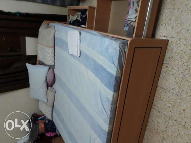 King size bed with mattress مسقط -  2
