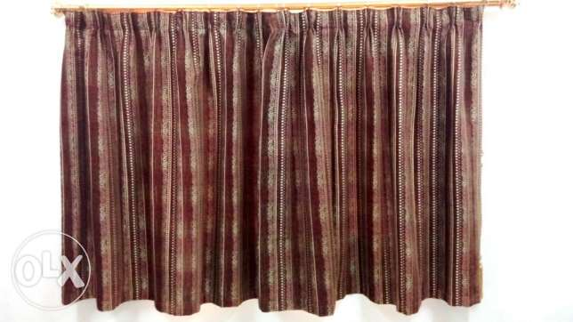 04 Sets of Curtains Suitable for Window Size 5' x 4'.