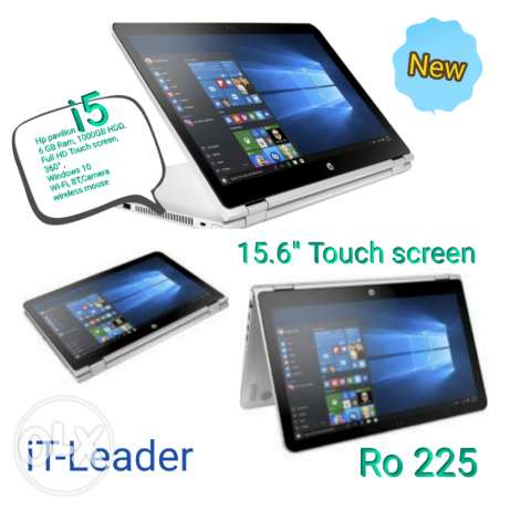 Hp Laptop i5 Touch screen,