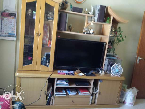 Wall Unit + Free steel bed