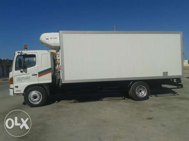 Freezer truck in good condition for rent by contract with driver(neg.)