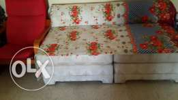 2 single seater sofa and 1 armchair for sale