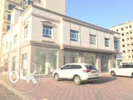 show room 300 meter and 4 flat used as office mabelah al synaeyah