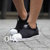 Adidas super star slip-ON