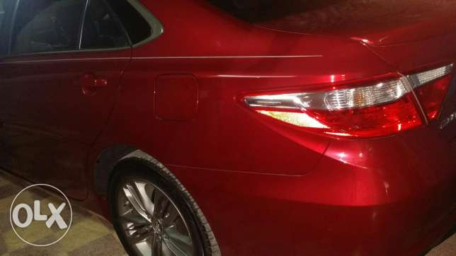 Toyota camry se very clear and GCC السيب -  1
