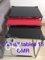 3 sets of coffee table for sale