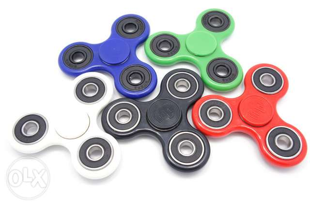 Spinner fidget game