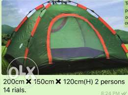Aoutomatic tent for 2 persons