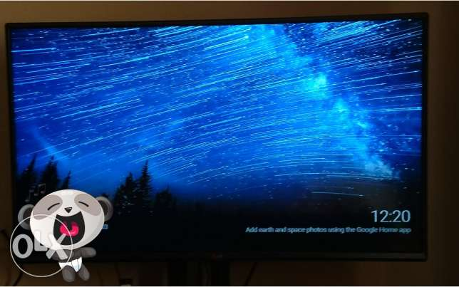 LG FULL HD 43 INCHES One year used only