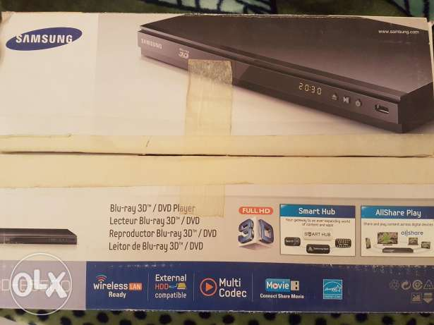 Blu-ray 3D / DVD Player