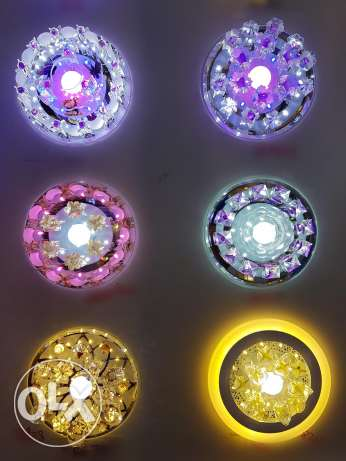 New design led lights for decorate house
