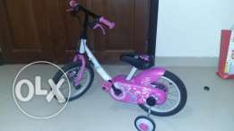 Decathlon girly bike