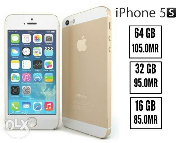 IPhone 5s 16Gb original plus gift and warranty