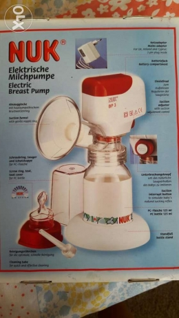 Nuk Electric Breast German Pump rarely used bottle not used