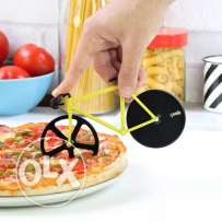 cycle designed pizza cutter