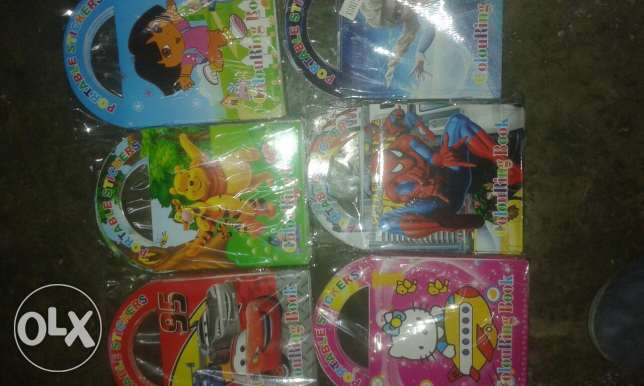 12pc colouring book 1:500 only