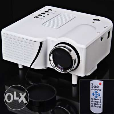 Clearance Price For Portable Mini Projector Support AV/SD/VGA/HDMI