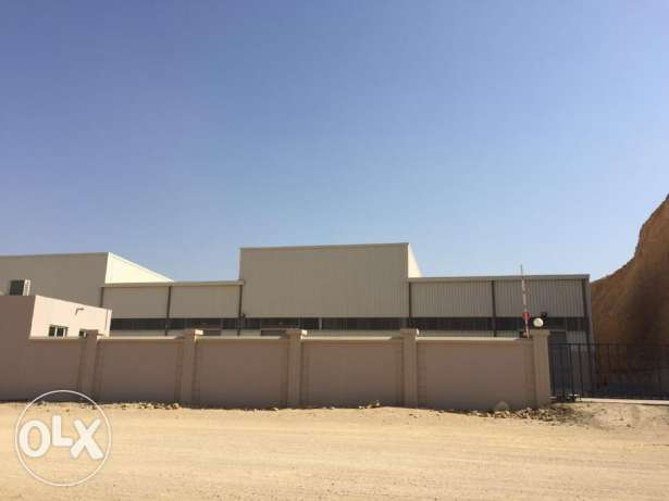 KA 237 Spacious Warehouses in RUSAYL for Rent مسقط -  5