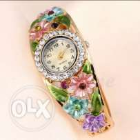 Beautiful Colorful Ladies Bangle Watches for sale