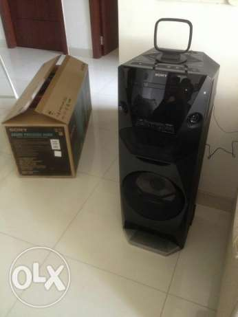 Sony home audio system MHC-V6D