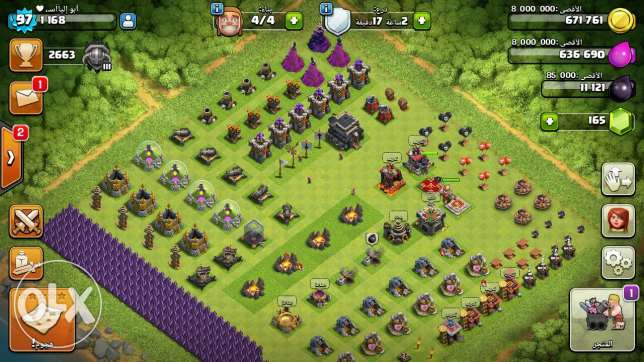 Clash of clans عبري -  1