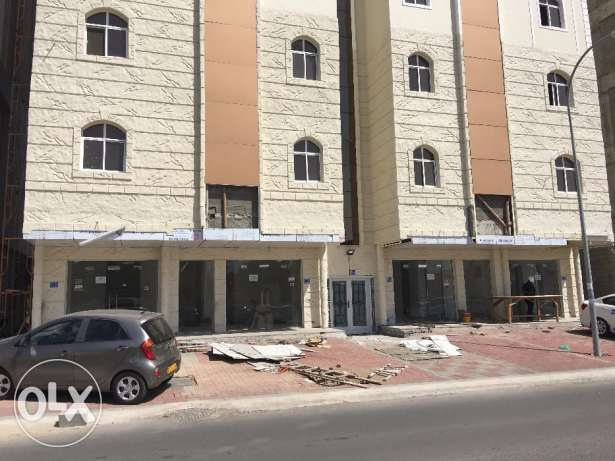 flat for rent in al khoud on mazoun streetfor 210