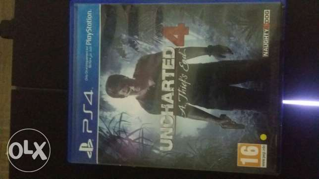 UnCHarted 4 for sale