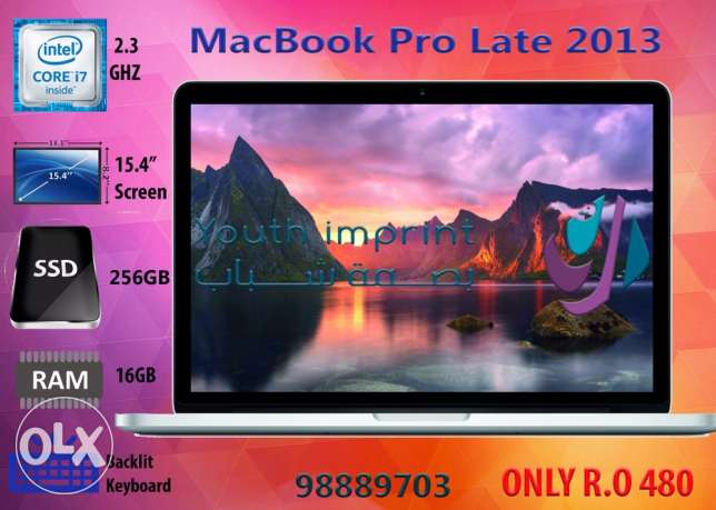 MacBook Pro Retina Late 2013/16GB/256GB