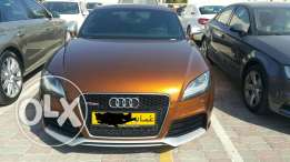Audi tt rs exclusive color low mileage