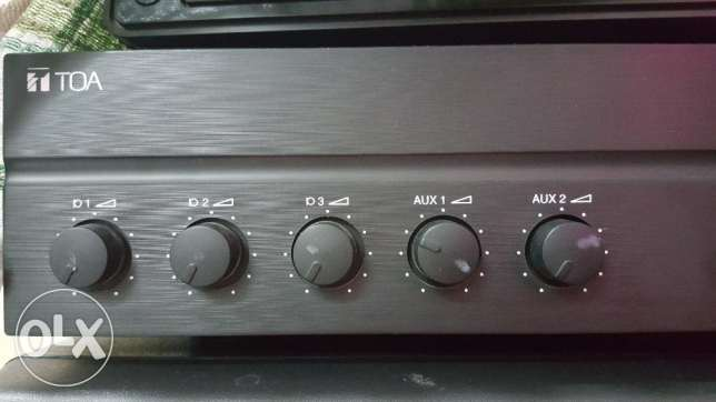 TOA Mixing Amplifier and Pioneer Speakers الرستاق -  3